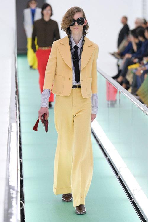 Gucci2020春夏季男装 随性自然洒脱