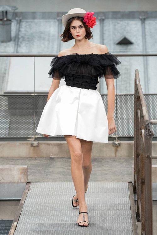 CHANEL2020春夏连衣裙 时尚性感而带着精致感