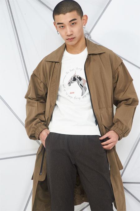 玖尺NINE FEET时尚男装 帅气与时尚的精彩演绎