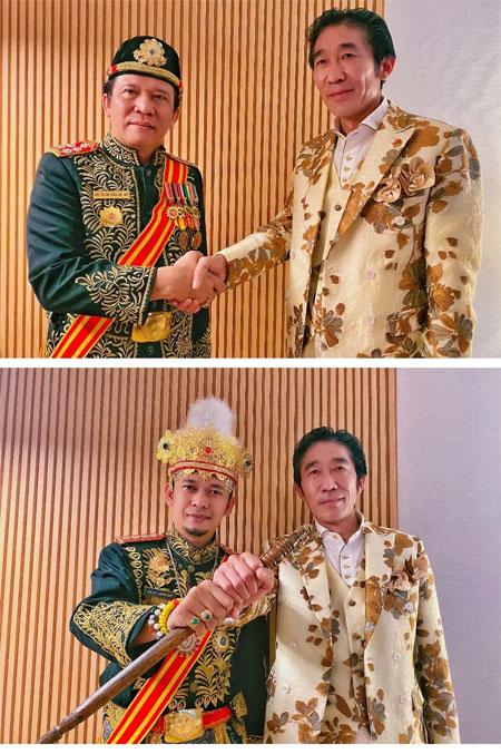 蓝黛丹尼携手印尼皇室开启2020新篇章