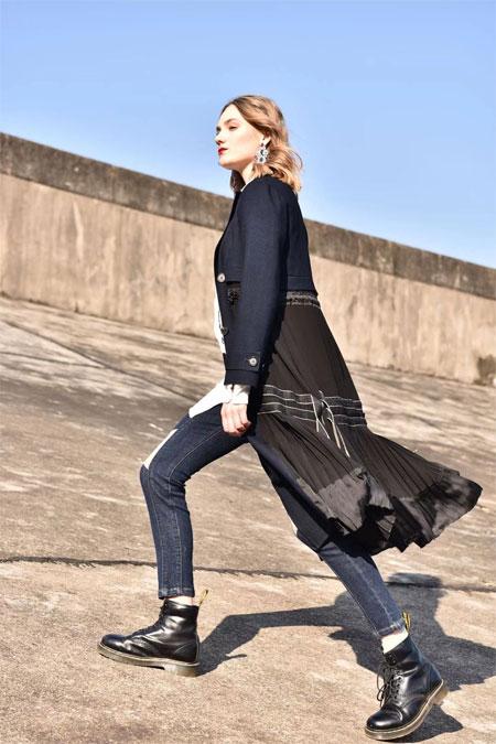 阿缇娜品牌女装 自由狂野属性附身