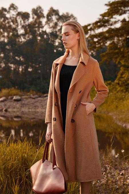 愿冬日的温暖 都藏在木丝语女装里