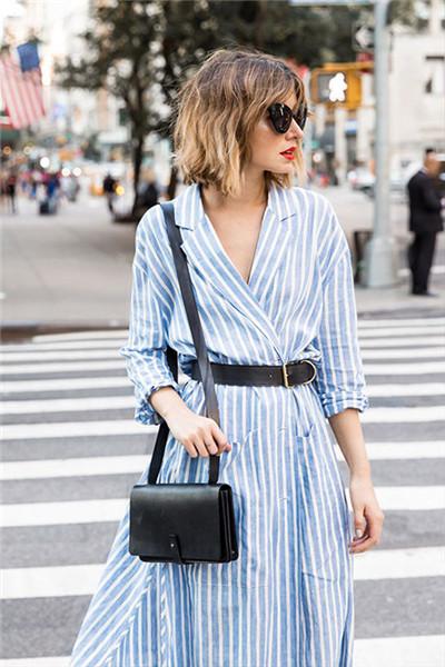 春季简约时尚穿搭 让阿莱贝琳做你的时尚导师