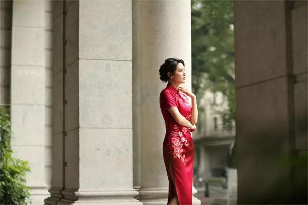 东方贵族气质女装 给母亲最长情的相伴