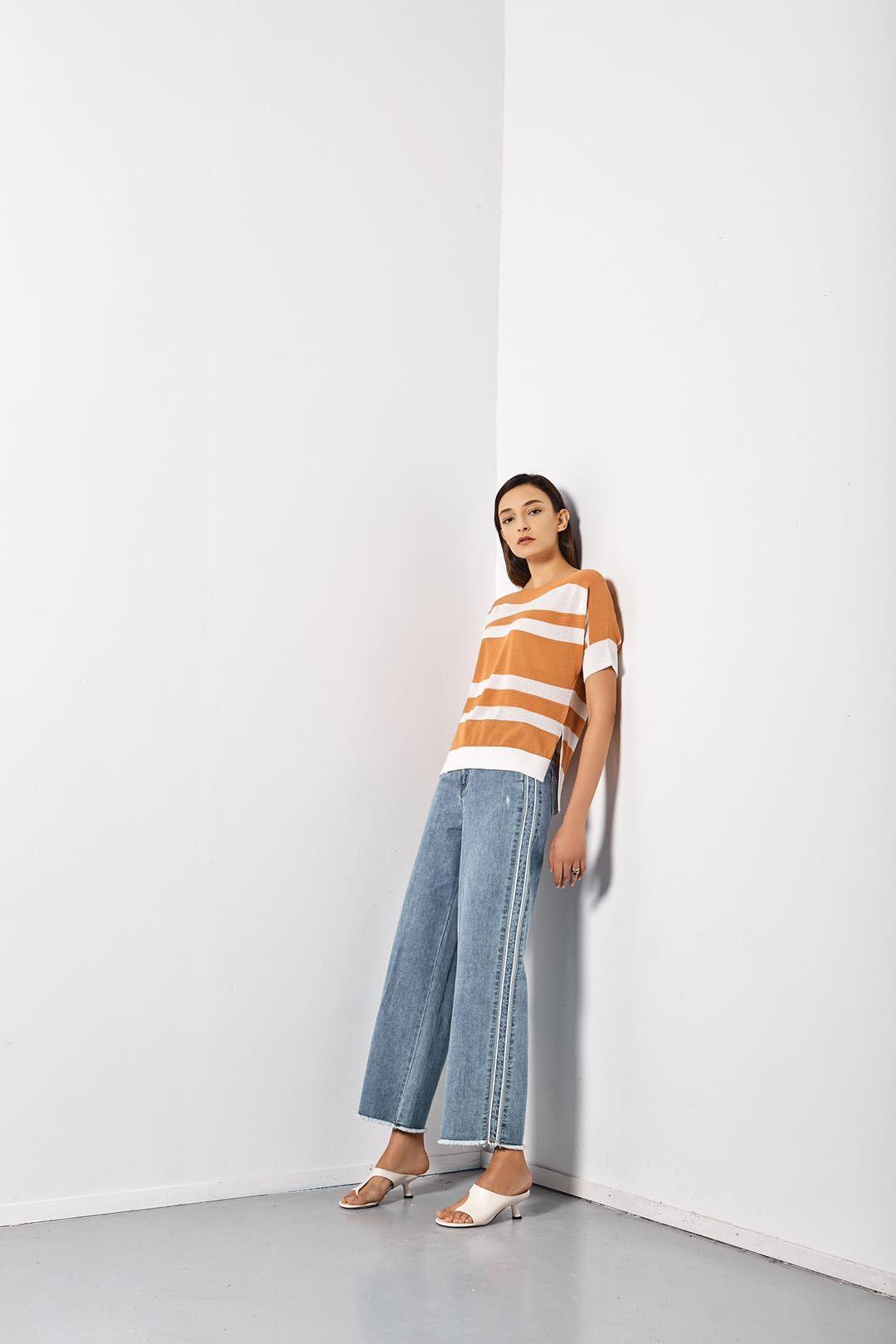 TOUR BUYER原创设计师女装货源时尚单品牛仔裤