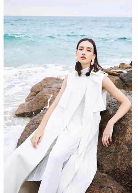 鲁遇服饰2020春夏新品系列:海洋 温柔的力量