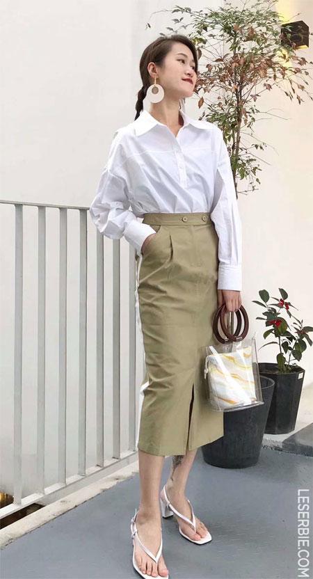 春夏季可以这样搭配 简单时尚又好看