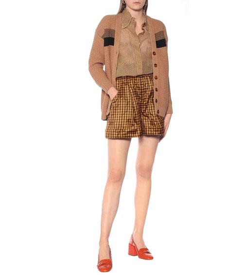 Fendi针织开衫系列 为你的日常造型注入几分怀旧气息