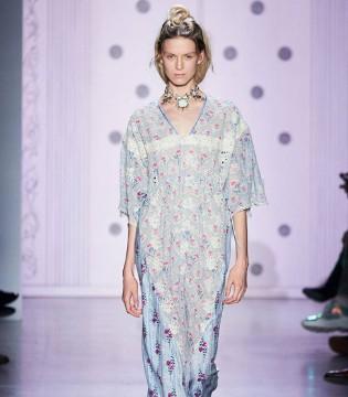 Anna Sui2020春夏女装 绚丽奢华 展现独特的个性魅力