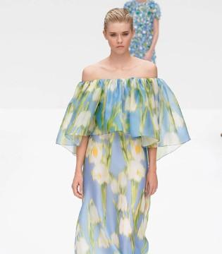 Carolina Herrera春夏时装 复古优雅又不失尊贵!