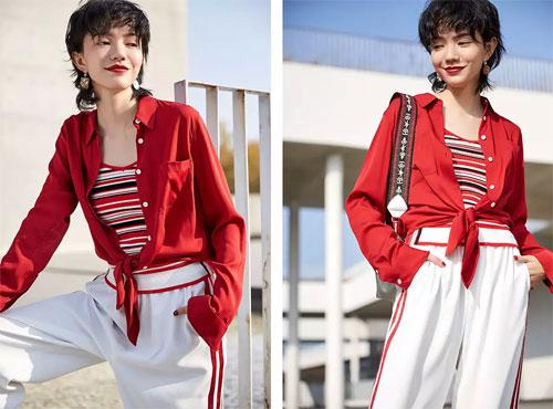 雀啡服饰上新春款女装 简约又不缺少时尚感!