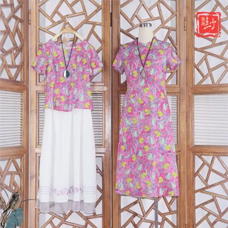 """曼茜纱:2020夏装上市""""玫红色""""系列"""