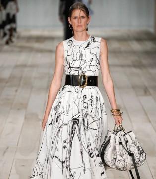 Alexander McQueen2020春夏高级成衣 原始而质朴