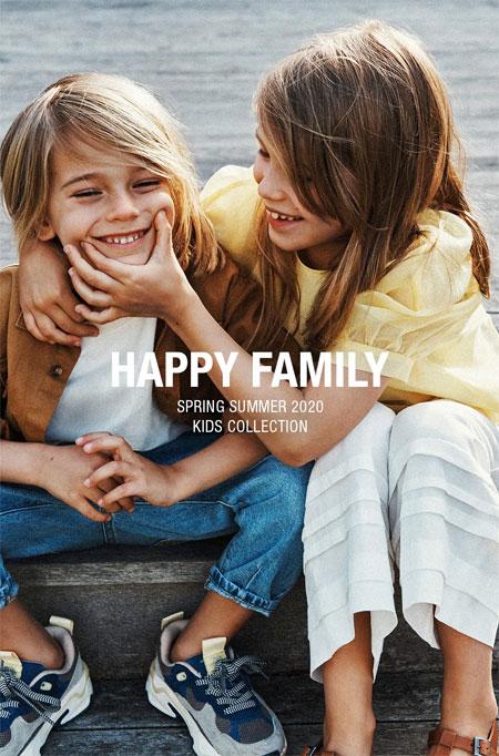ZARA: HAPPY FAMILY  致亲爱的你