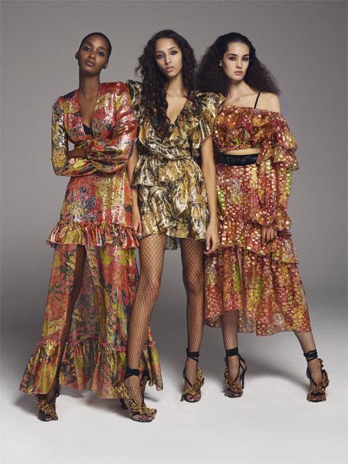 dundas春夏时装 带来神秘的色彩之旅