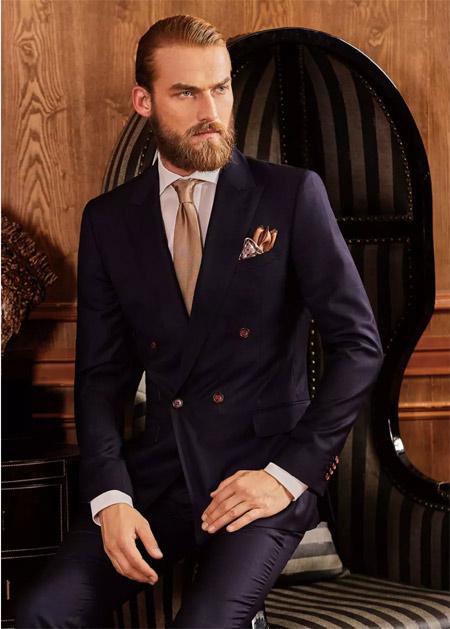 富绅V定制 原来这才是男士西装满分穿搭指南!
