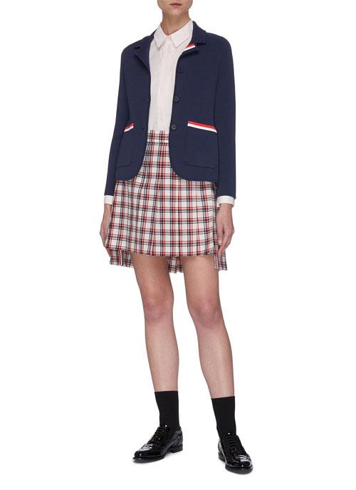 开学季穿搭 亮眼且吸睛 青春少女感十足!