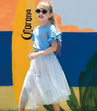 夏季 快乐精灵童装让你的小仙女美出天际
