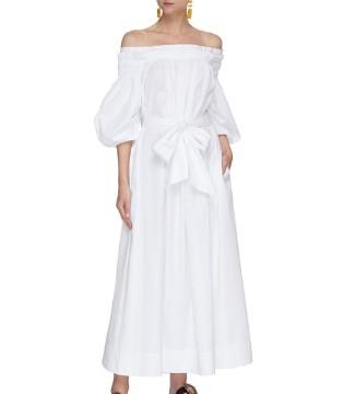 Gabriela Hearst精美连衣裙 凸显你的迷人女人味