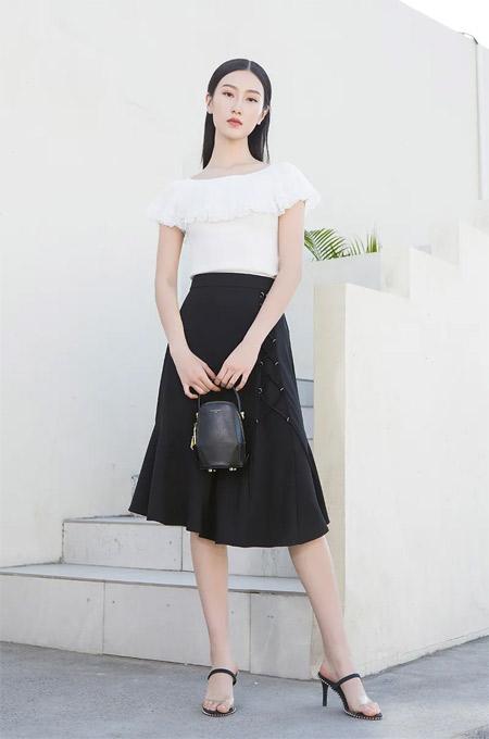 佳人苑穿搭美学:黑白 简约而不简单
