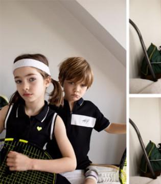 ZARA新品系列: 网球小选手登场!