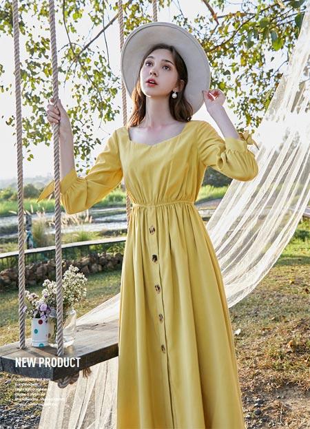 春美多连衣裙 轻松释放属于夏天的气息