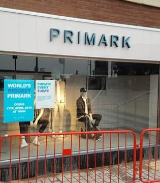 英国门店16号解除封锁 快时尚品牌Primark恢复营业