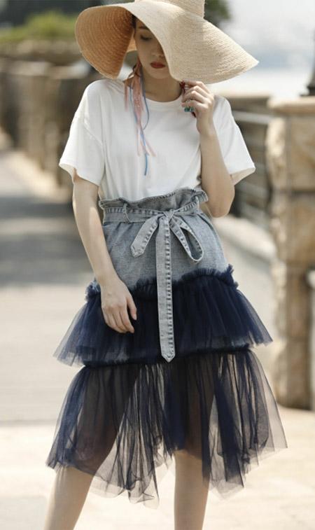 让阿缇娜成为你的夏季 牛仔半身裙已派送!