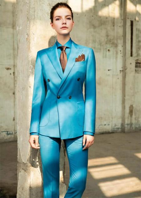 富绅V定制 女士西服定制 穿讲究的西服 做精致的女人