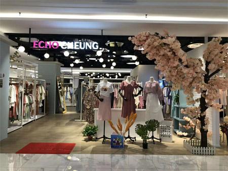 热烈祝贺ECHO CHEUNG女装河北衡水新店开业大吉!