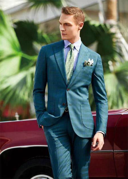 富绅V定制 职场人必备的西服穿搭 帅到炸裂