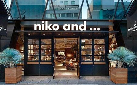 日本潮流生活方式品牌niko and ...入驻天猫