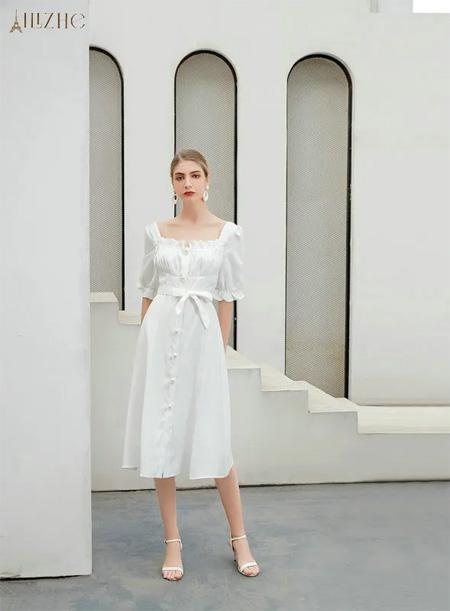夏季穿什么裙子不会出错?那就是白色!