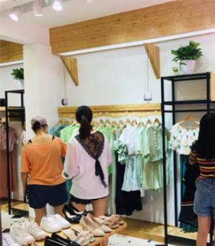 辉煌事业从开店开始 恭喜李小姐金蝶茜妮女装盛大开业