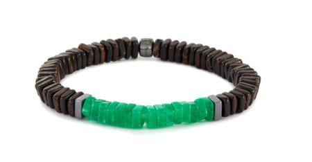 Tateossian手链 低调中带着奢华感  彰显出不俗的品位