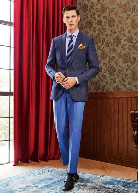 富绅V定制 专属瘦型身材的西服定制