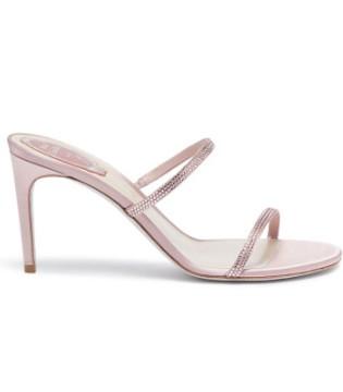 Rene Caovilla高跟鞋 为你的造型注入一丝优雅女人味