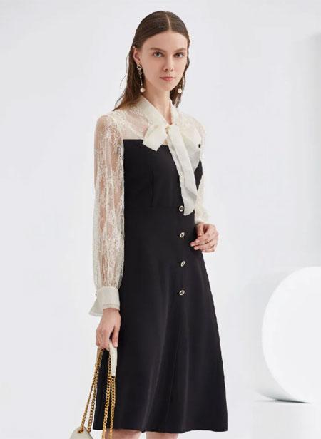 YOUXIZI 清凉又显瘦 不得不爱的艺术感连衣裙!