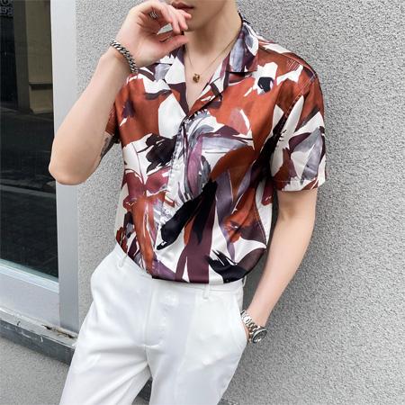 啄木鸟港风印花衬衫 演绎帅气夏威夷欧巴