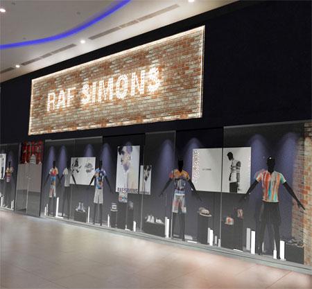 Raf Simons推出100件以往的服装 庆祝品牌成立25周年