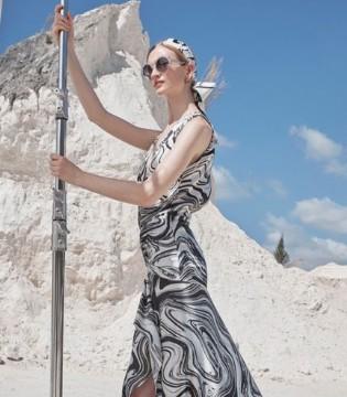 黑白配礼服裙经典且耐看 看似简单却魅力无穷