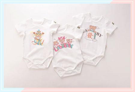 今夏不能错过的宝宝连体衣 墙裂安利这6件