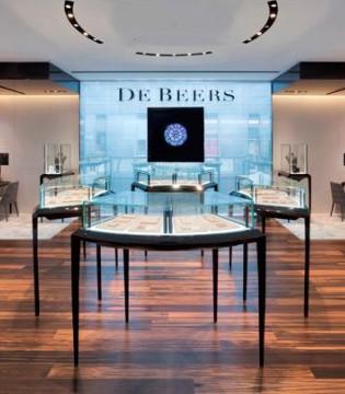 �上珠��品牌Gemist�@得�@石巨�^De Beers的投�Y