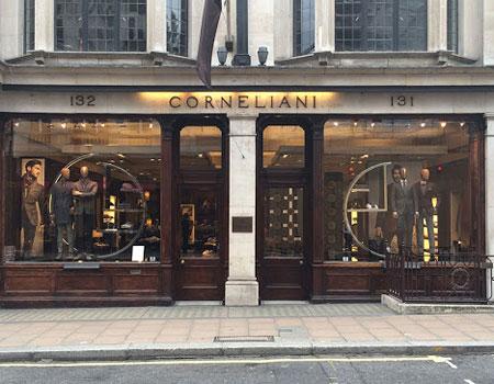 奢侈男装品牌Corneliani获得意大利政府支持