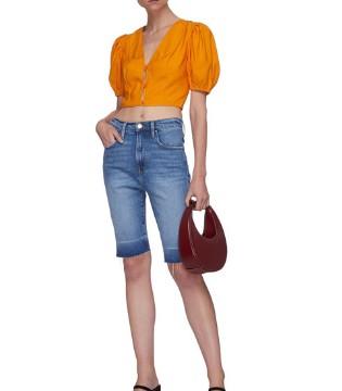 炎炎夏日 这样穿搭清凉感与时尚感具备!