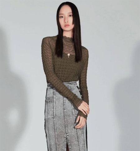 H・GENTEEL   酷女孩的中性时髦色!