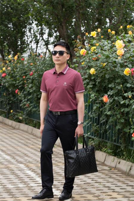 清新帅气的男士穿搭 在夏季尽显时尚商务风