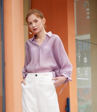 紫霞仙子穿越现代 薰衣草穿搭超显气质