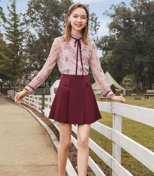 精致又小巧的裙子 秋日里的浪漫情调