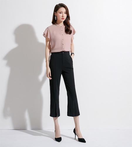 微喇裤的无限魅力 怎么搭配怎么好看!